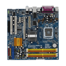 Материнская плата ASRock 4CORE1333-GLAN/M /Socket 775/4xDDR2/mATX